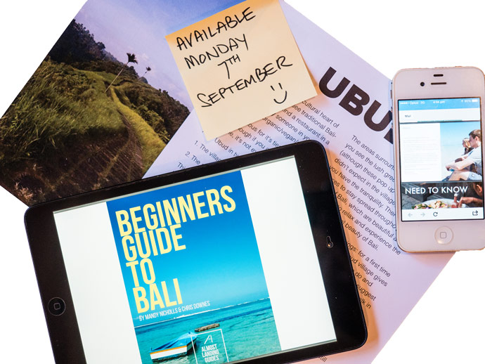 Announcement: Our New Bali Guide Is Coming Soon…
