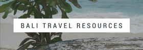Bali Travel Resources