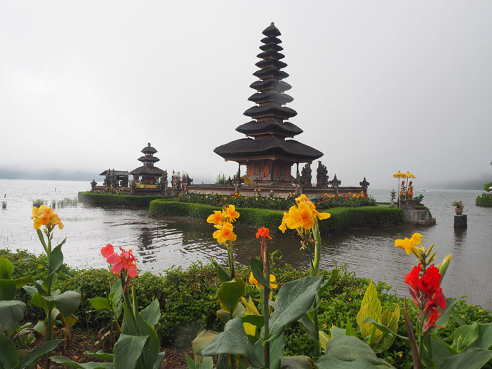 Beratan Lake and Pura Ulun Danu Temple
