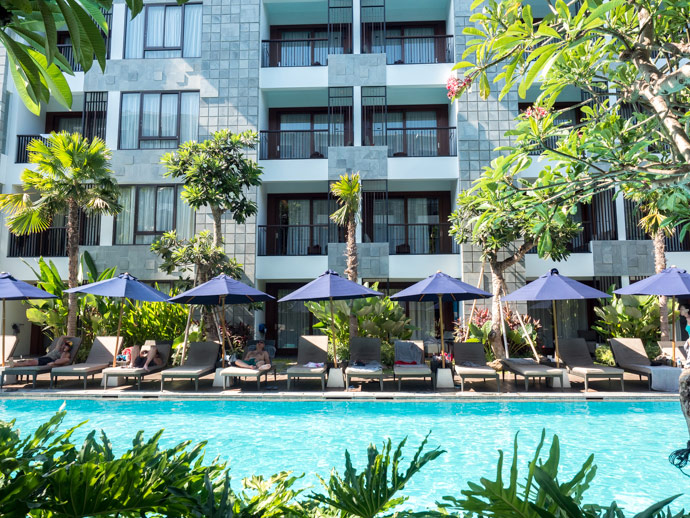 Courtyard By Marriott Seminyak Beyond The Room Pool