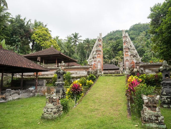Compound Temple Candidasa