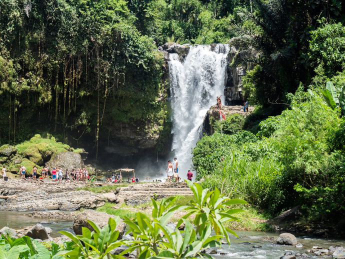 How To Get To Tegenungan Waterfall Bali