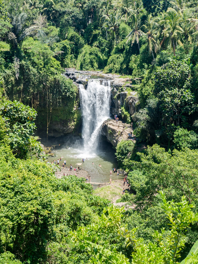 View From The Top Tegenungan Waterfall Bali