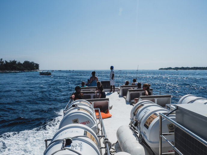 Open Deck Bluewater Express Lembongan To Gili T