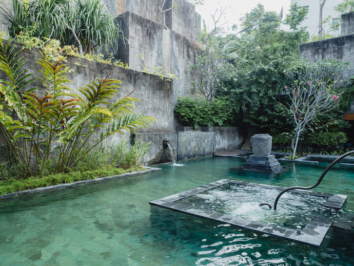 Secret Garden Pool Hotel Indigo Bali