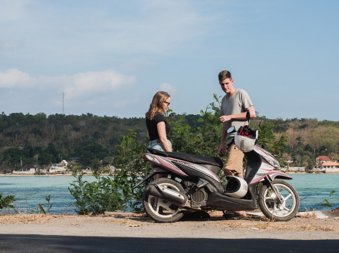 Hire A Scooter Nusa Lembongan