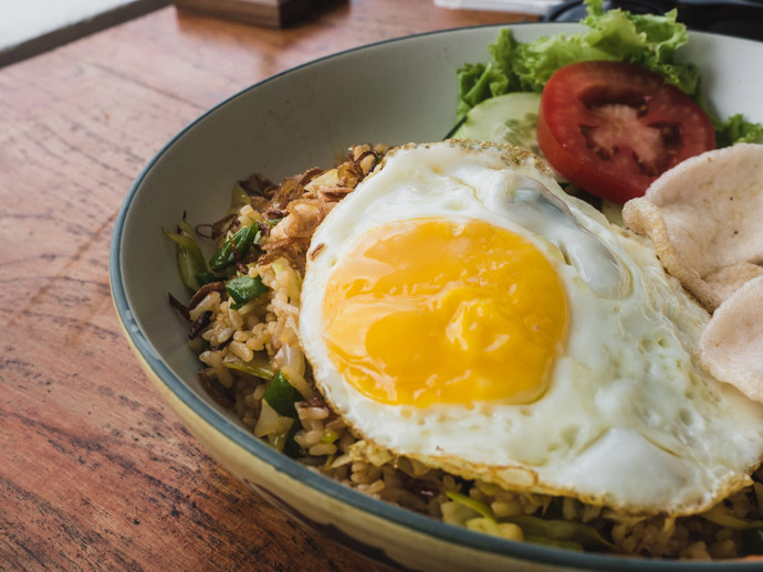 Nasi Goreng Next Level Cafe Ceningan