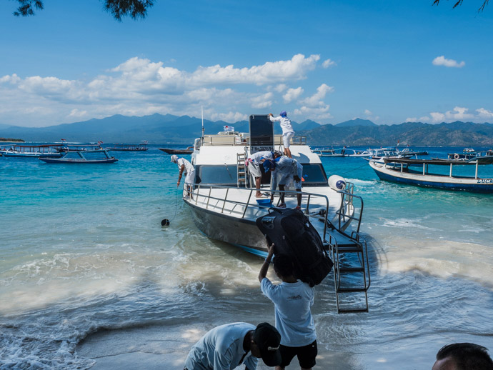 How To Get To The Gili Islands From Bali Indonesia Video Almost