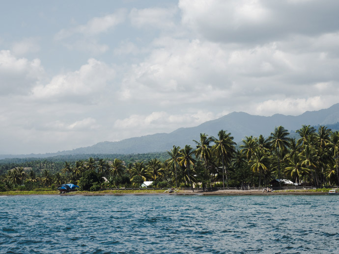 View Of Lombok From The Boat
