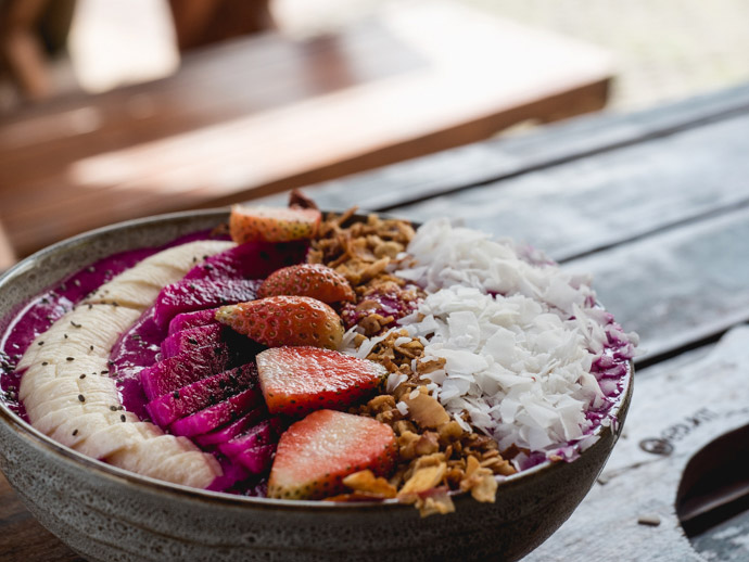 Fruit Smoothie Bowl Cafe Bukit Uluwatu