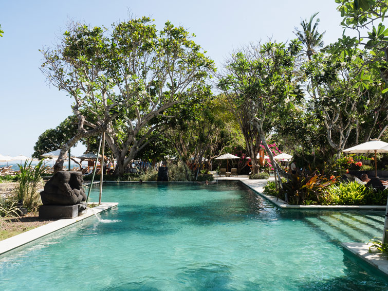 Beachfront Pool Hyatt Bali