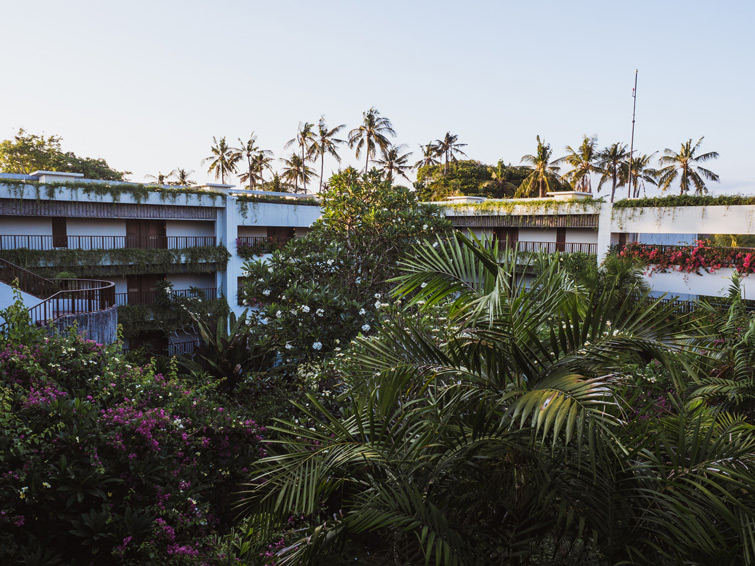 Original Hyatt Regency Bali Hotel Buildings