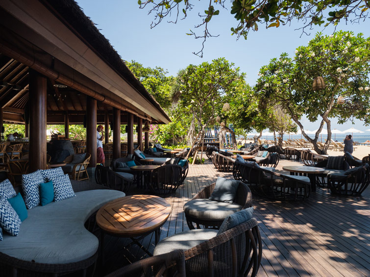Pizzaria Beachfront Restaurant Sanur