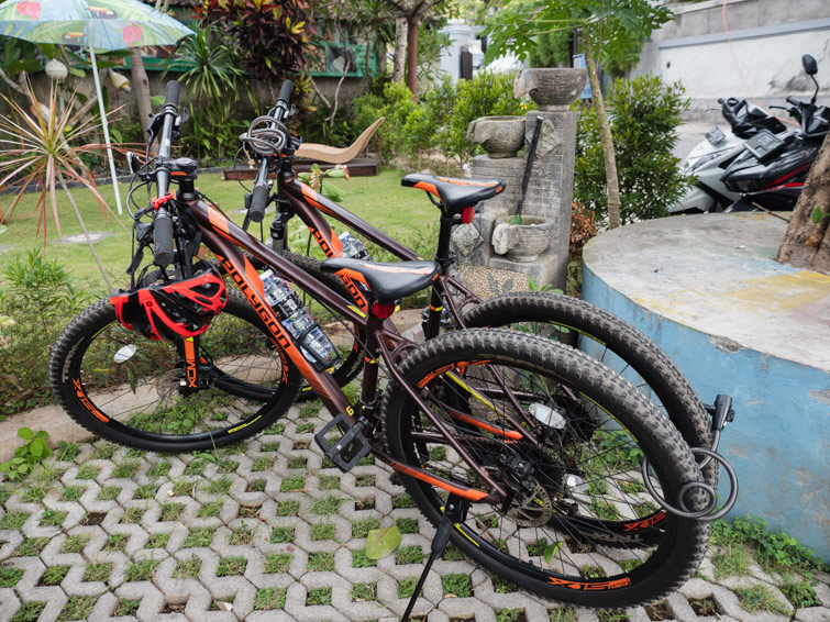 Riding Bikes In Uluwatu