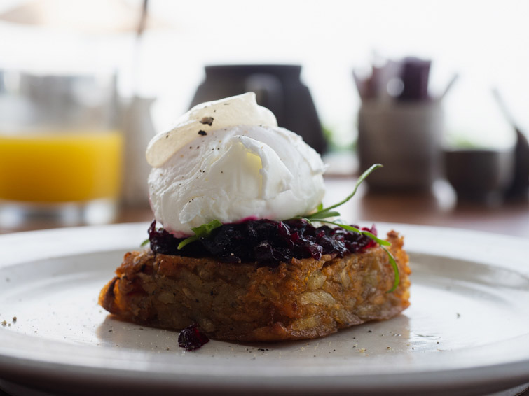 Poached Egg with Hash Brown Alila Seminyak