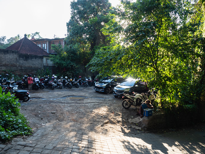 Campuhan Ridge Parking Ubud